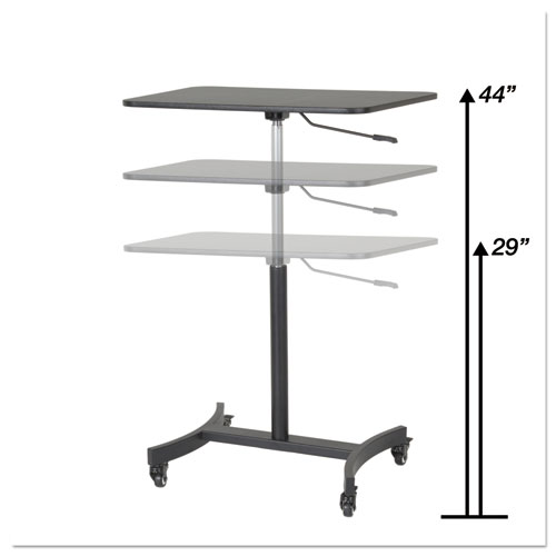 Sit-Stand Height Adjustment