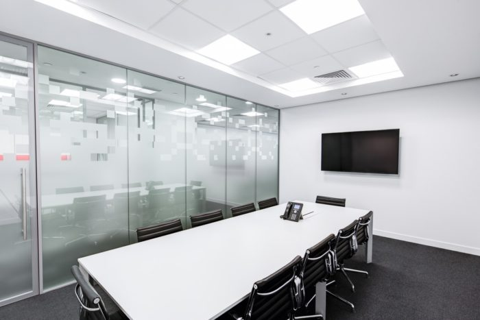 Corporate Office White Conference Room