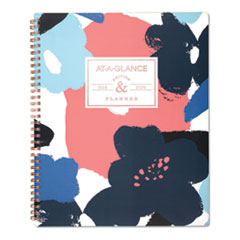 floral academic planner