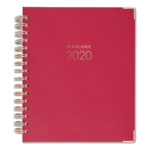 red office planner