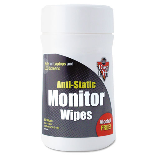 Premoistened Monitor  Cleaning Wipes