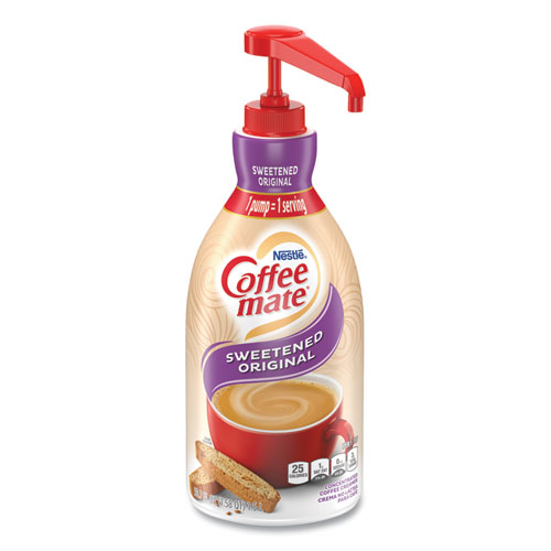 bottle of Coffee Mate creamer