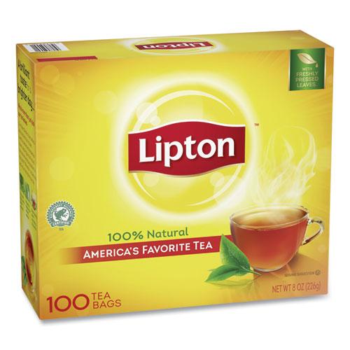 box of Lipton Tea